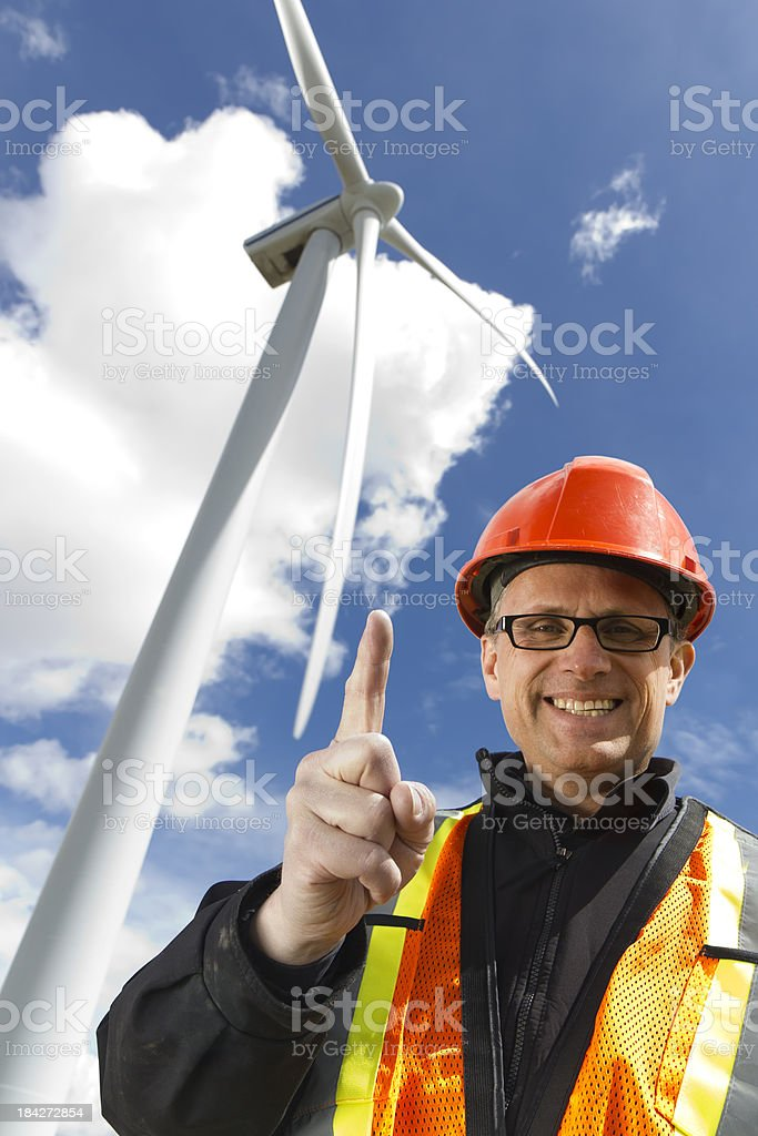 Alternative Energy First royalty-free stock photo