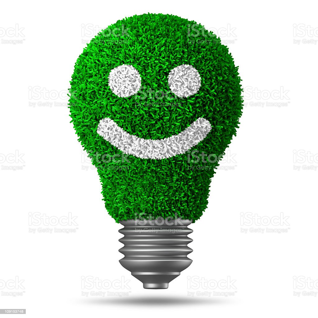 alternative energy idea royalty-free stock photo