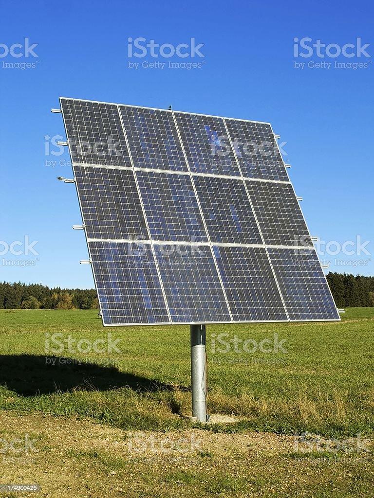 Alternative Energy: Solar Panel royalty-free stock photo