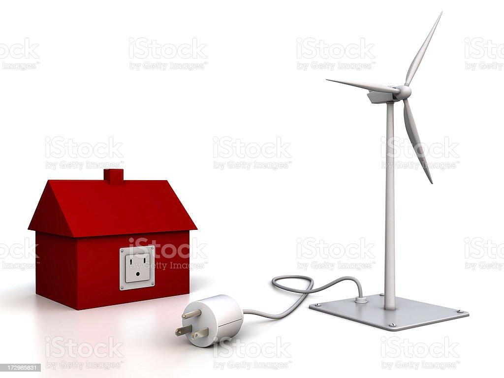 Alternative Energy: wind power royalty-free stock photo
