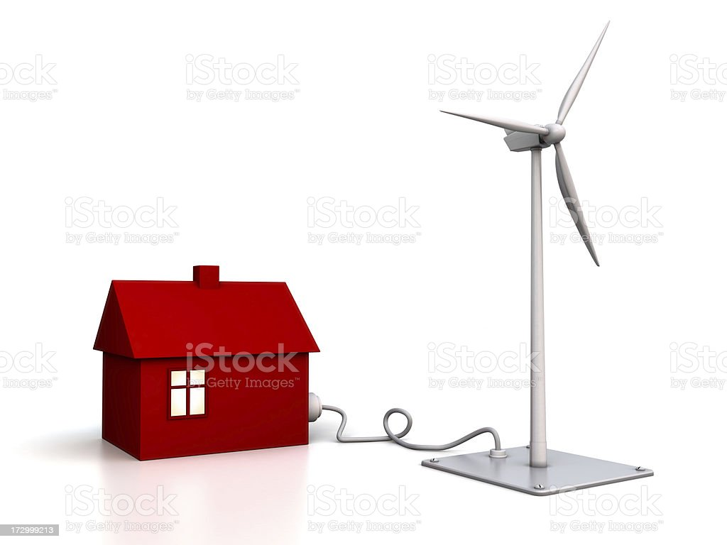 Alternative Energy: wind power royalty-free stock photo