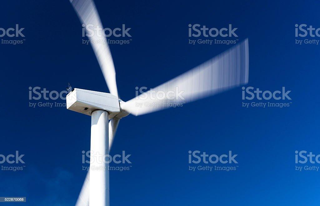 Alternative energy. Wind power. stock photo