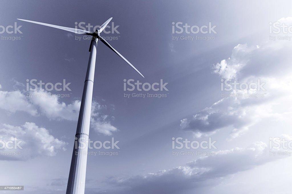 Alternative Energy Wind Turbines royalty-free stock photo