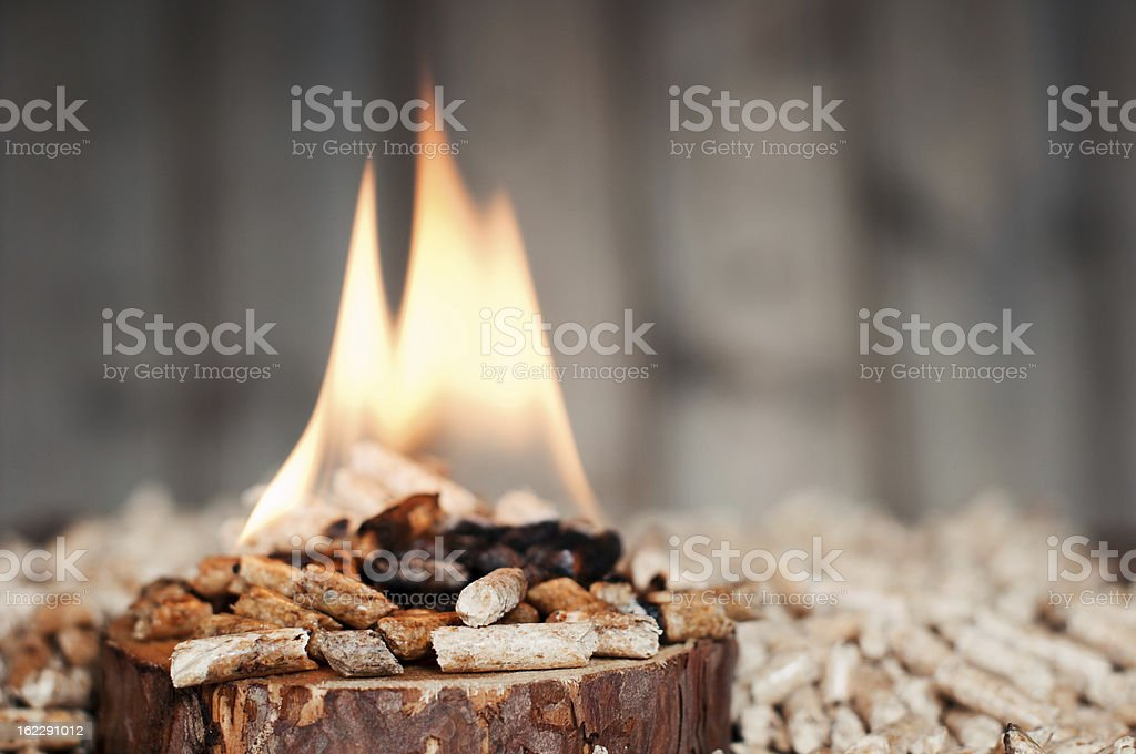 Alternative fuel sources used for energy stock photo