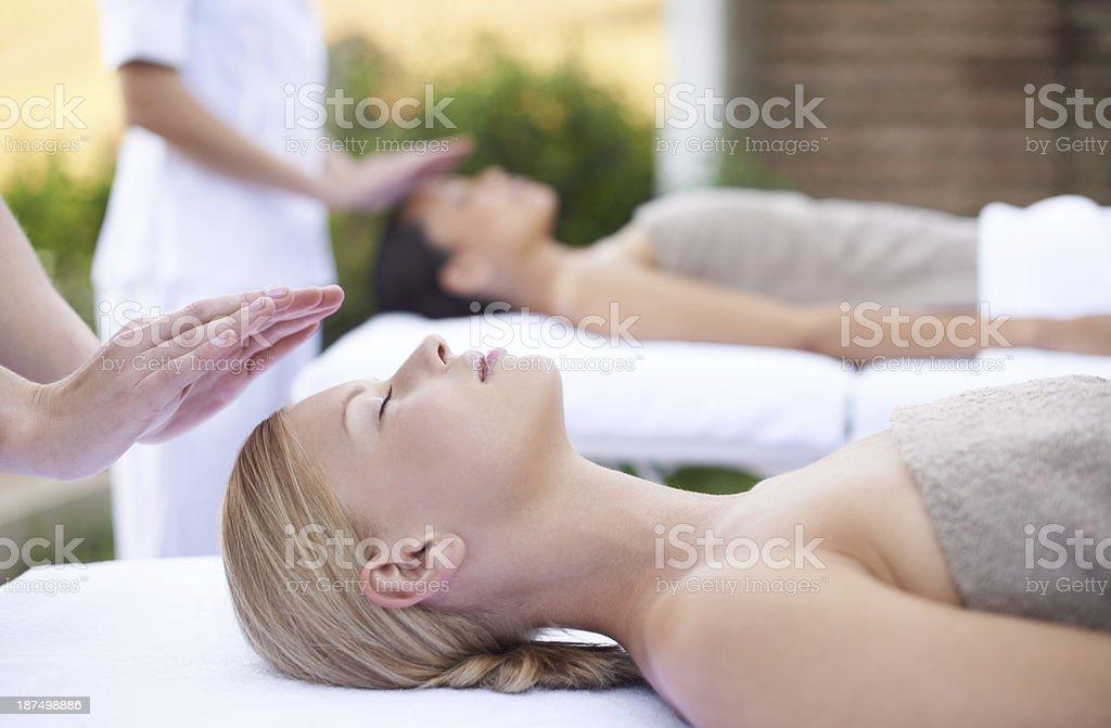 Alternative healing royalty-free stock photo