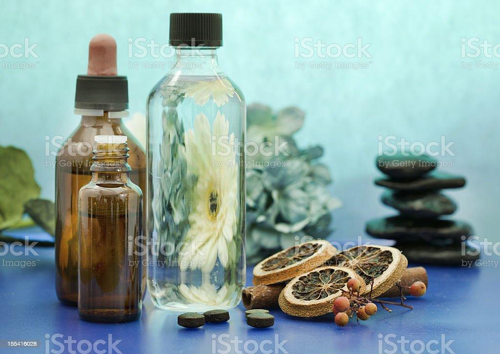 Alternative medicine royalty-free stock photo