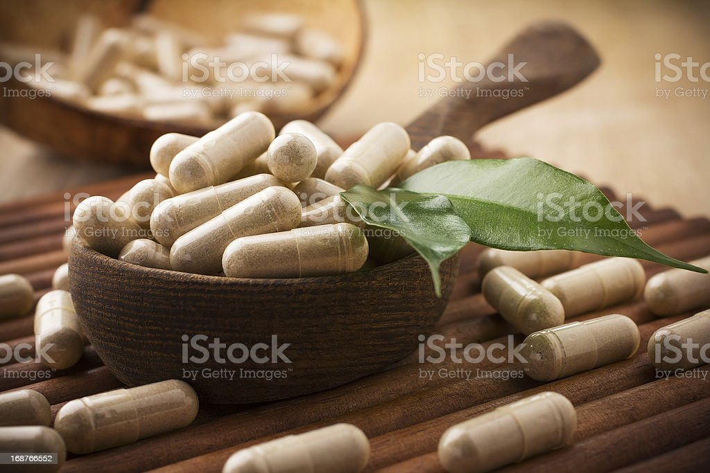 Alternative Medicine. stock photo