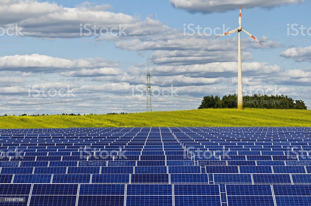 Alternative renewable Energy stock photo
