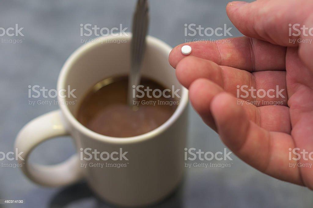 Alternative sugar stock photo