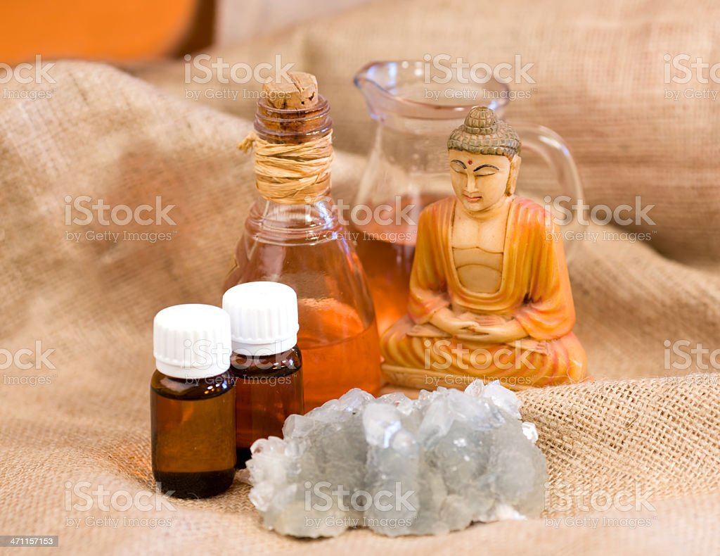 Alternative therapies royalty-free stock photo