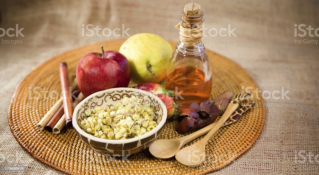 Alternative therapy stock photo