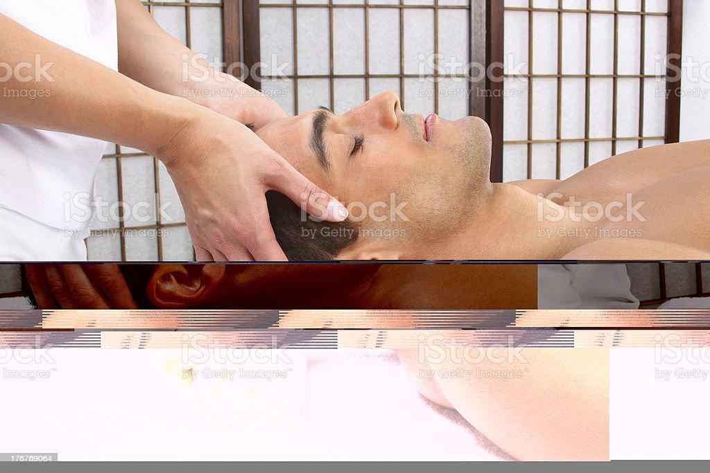 Alternative Therapy royalty-free stock photo