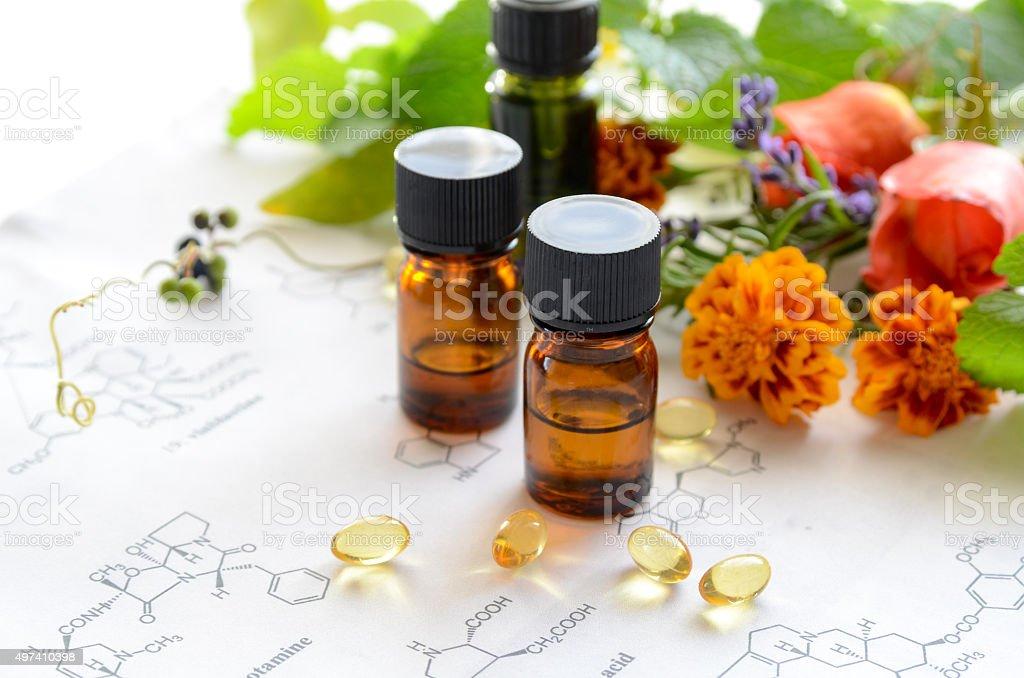 alternative therapy stock photo
