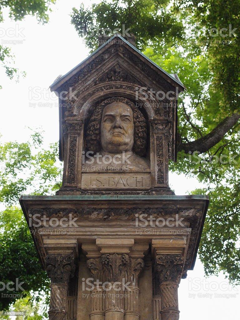 Altes Bach Denkmal stock photo