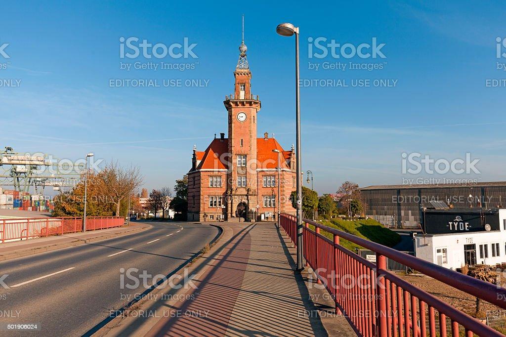Altes Hafenamt Dortmund stock photo