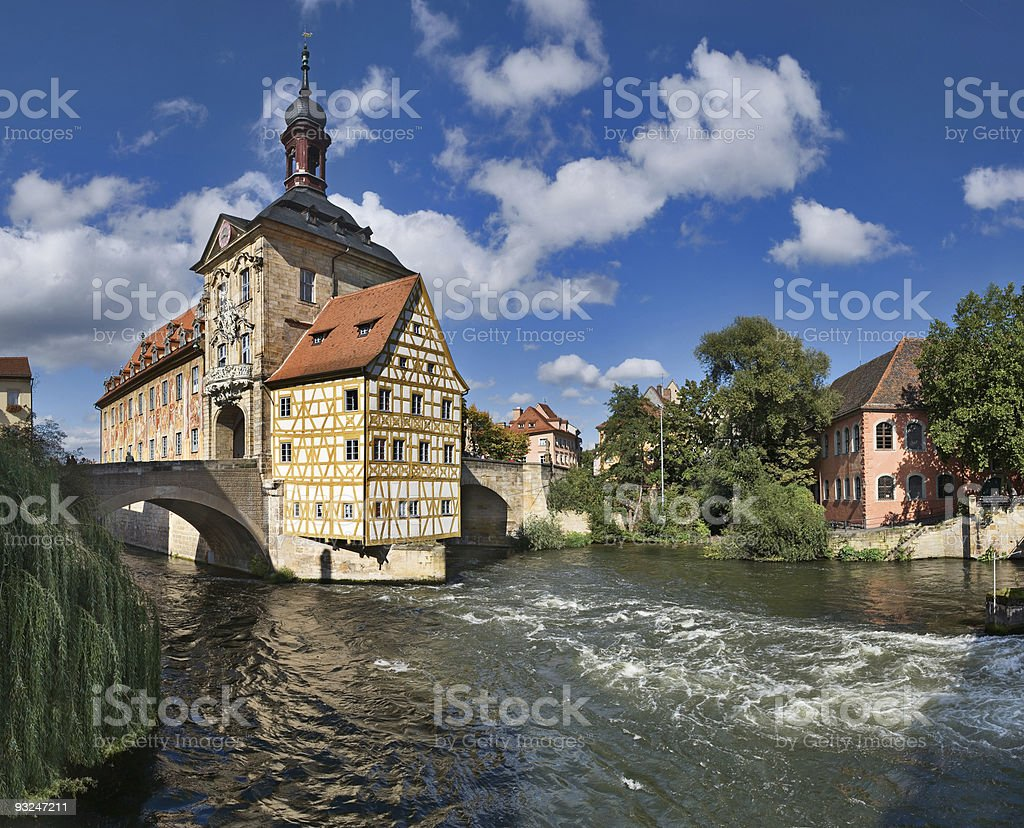 Altes Rathaus, Bamberg stock photo