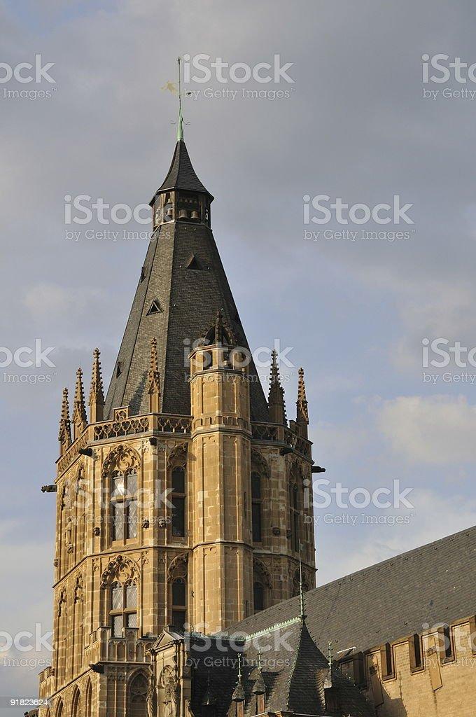 Altes Rathaus foto de stock libre de derechos