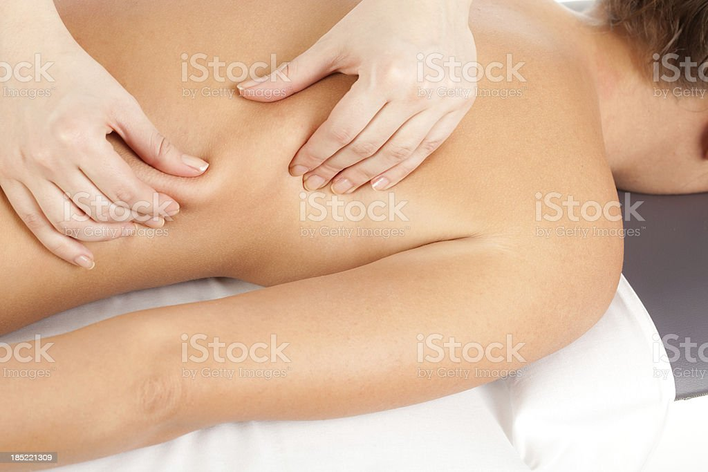 Althernative therapy royalty-free stock photo