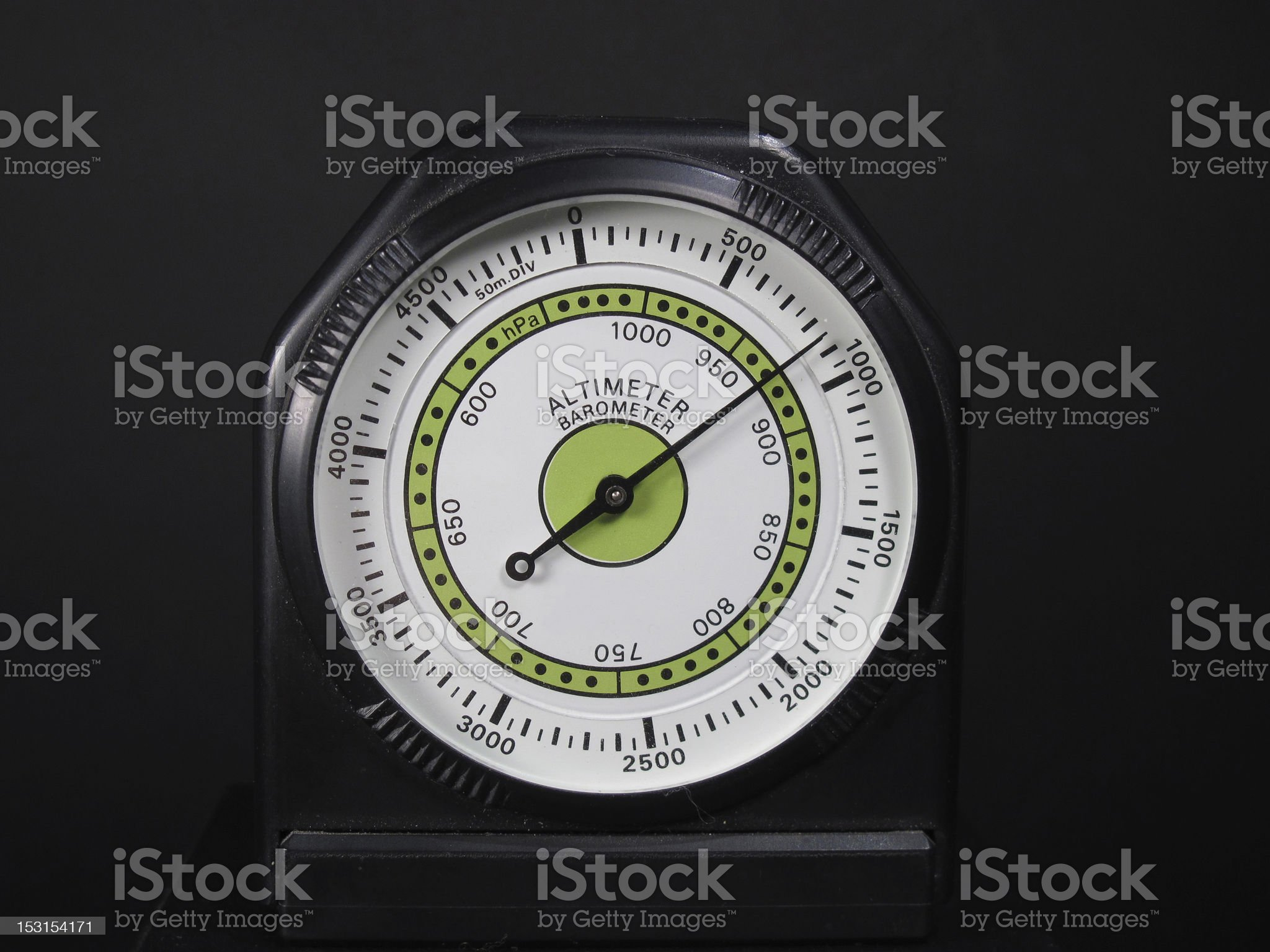 Altimeter barometer royalty-free stock photo