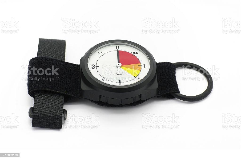 Altimeter Isolated stock photo