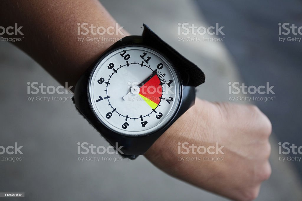 Altimeter stock photo
