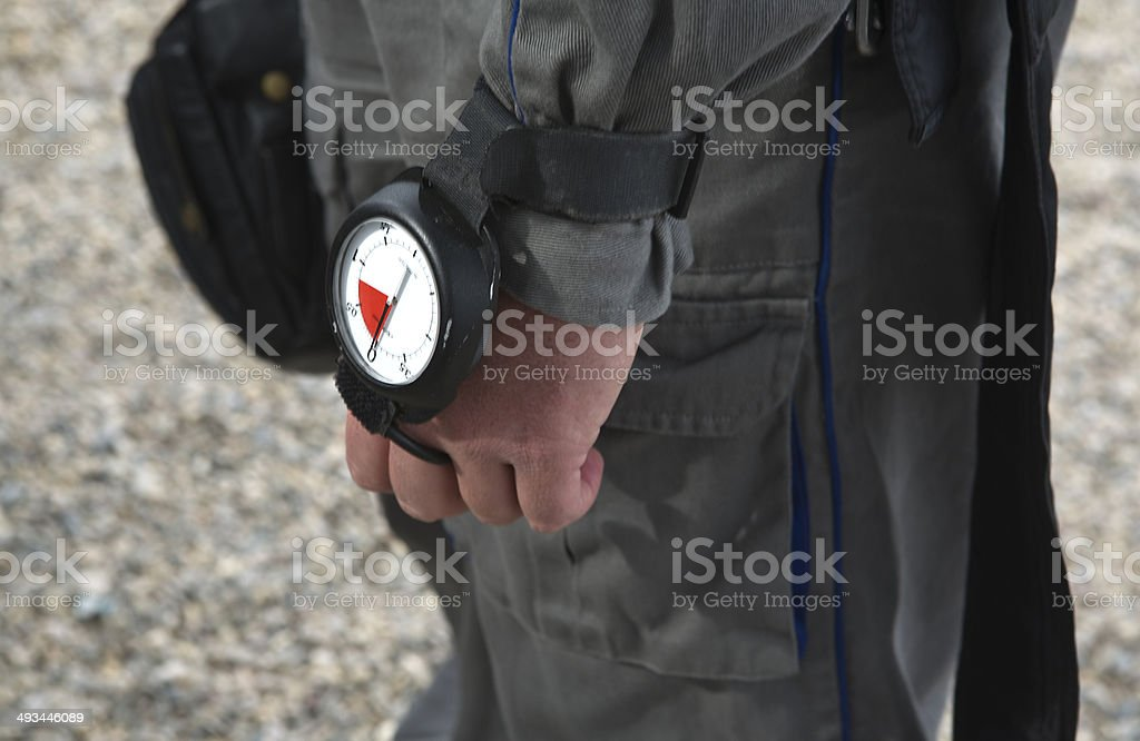 Altimeter royalty-free stock photo