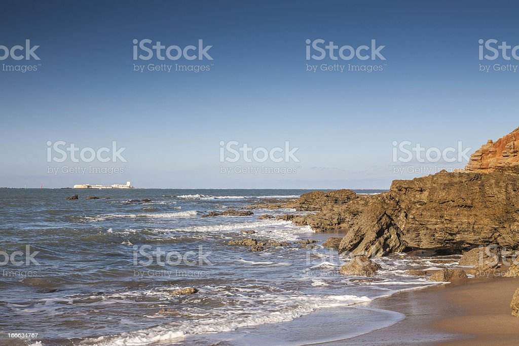 Altlantic beach royalty-free stock photo