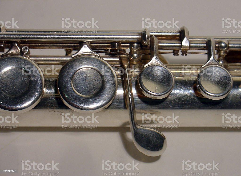 Alto flute royalty-free stock photo