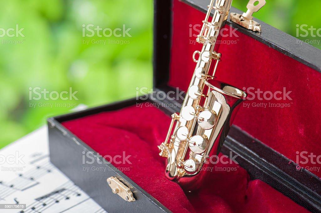 Alto sax stock photo