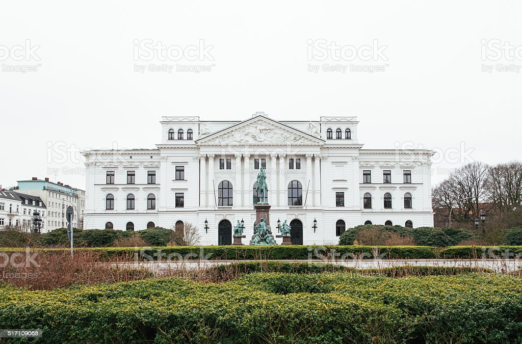 Altonaer Rathaus stock photo