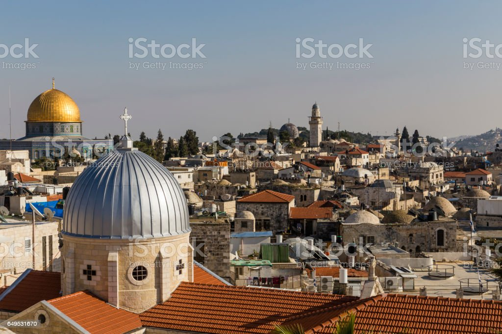 Altstadt von Jerusalem, Israel, Old City of Jerusalem, Israel stock photo