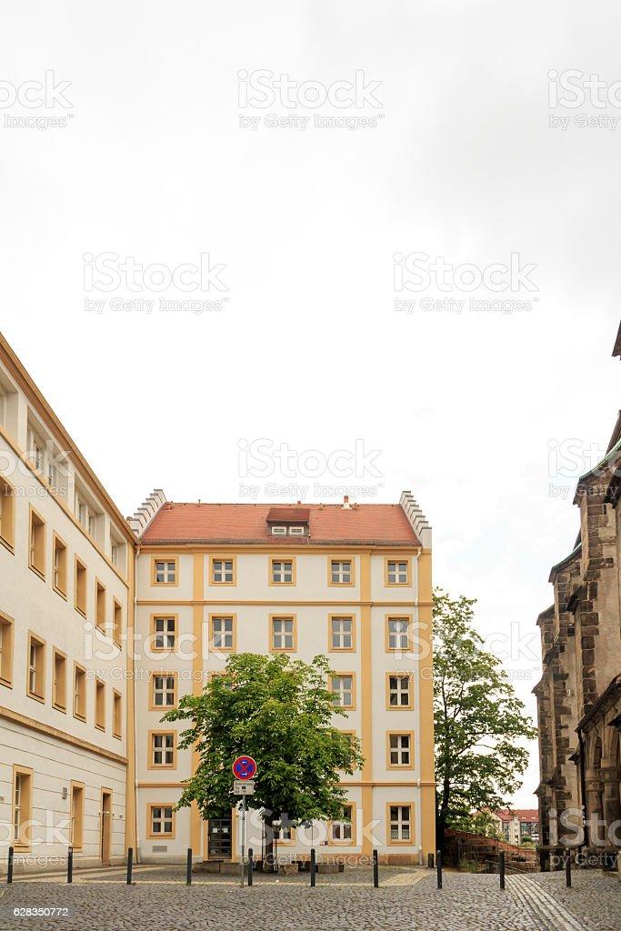 Altstadtfassaden in Görlitz stock photo