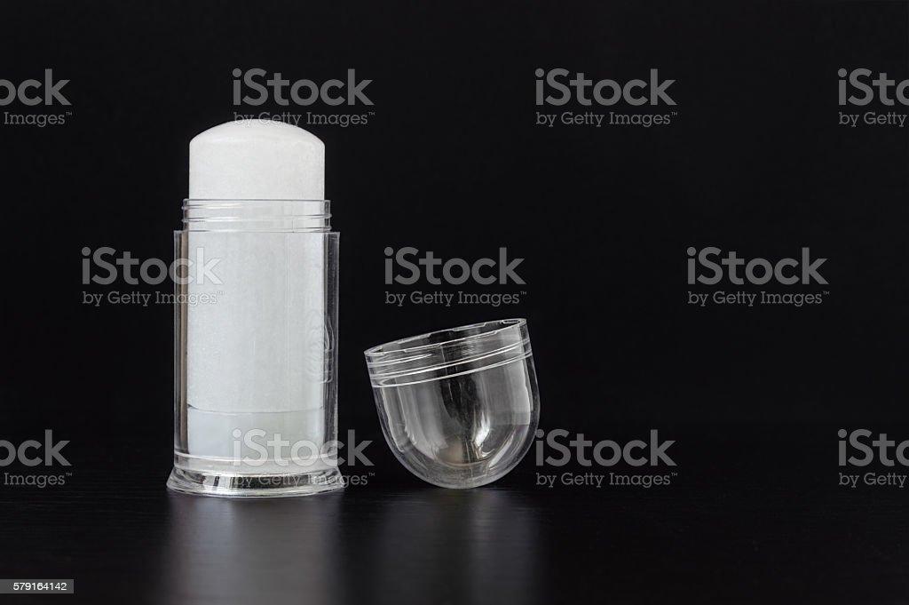 Alum Deodorant Stick stock photo