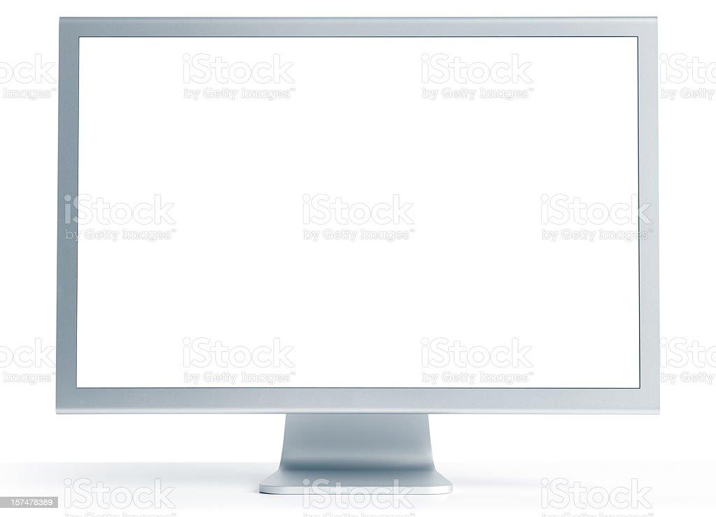 "Aluminium 30"" computer monitor stock photo"