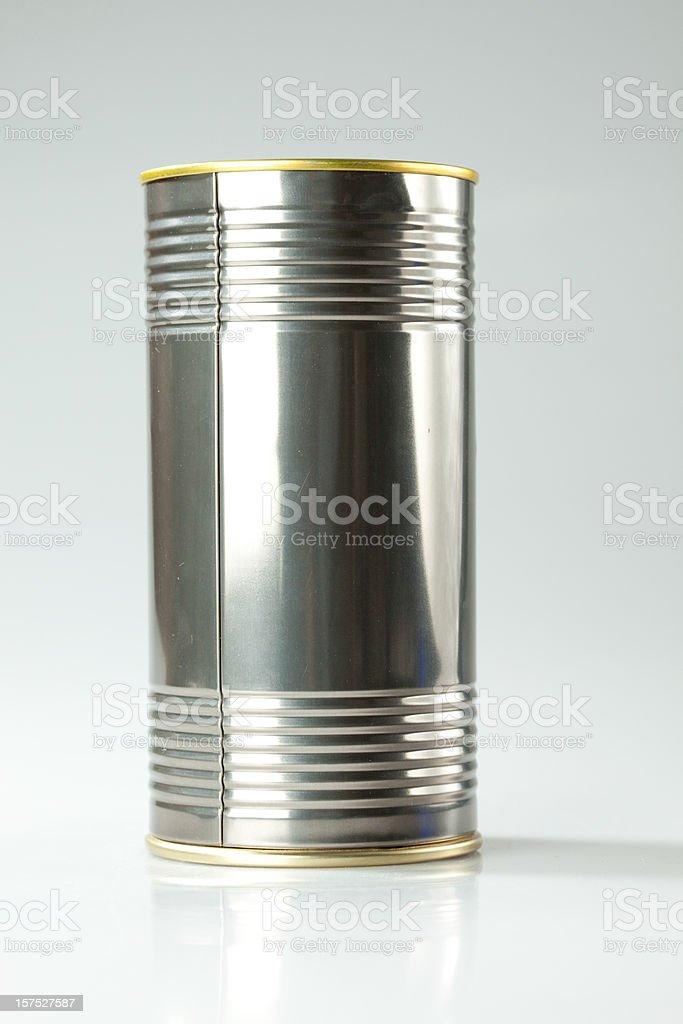 Aluminium can royalty-free stock photo