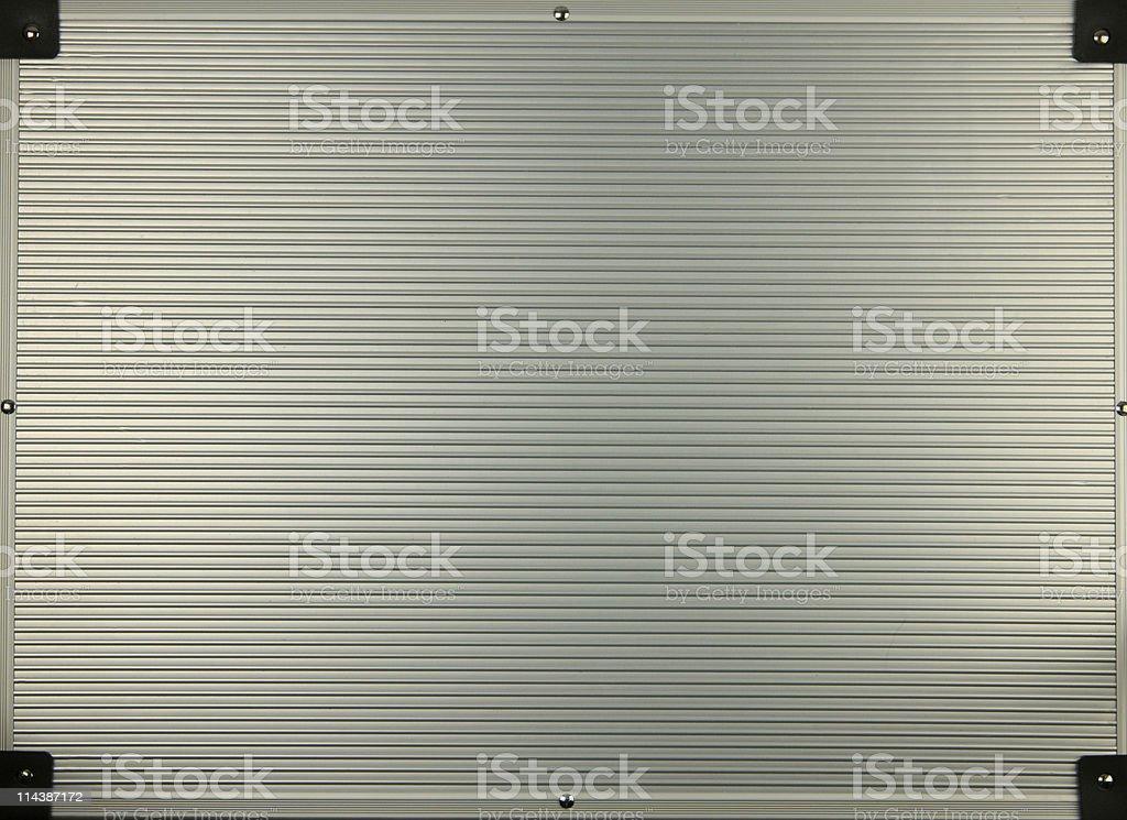 Aluminium Flight Case stock photo