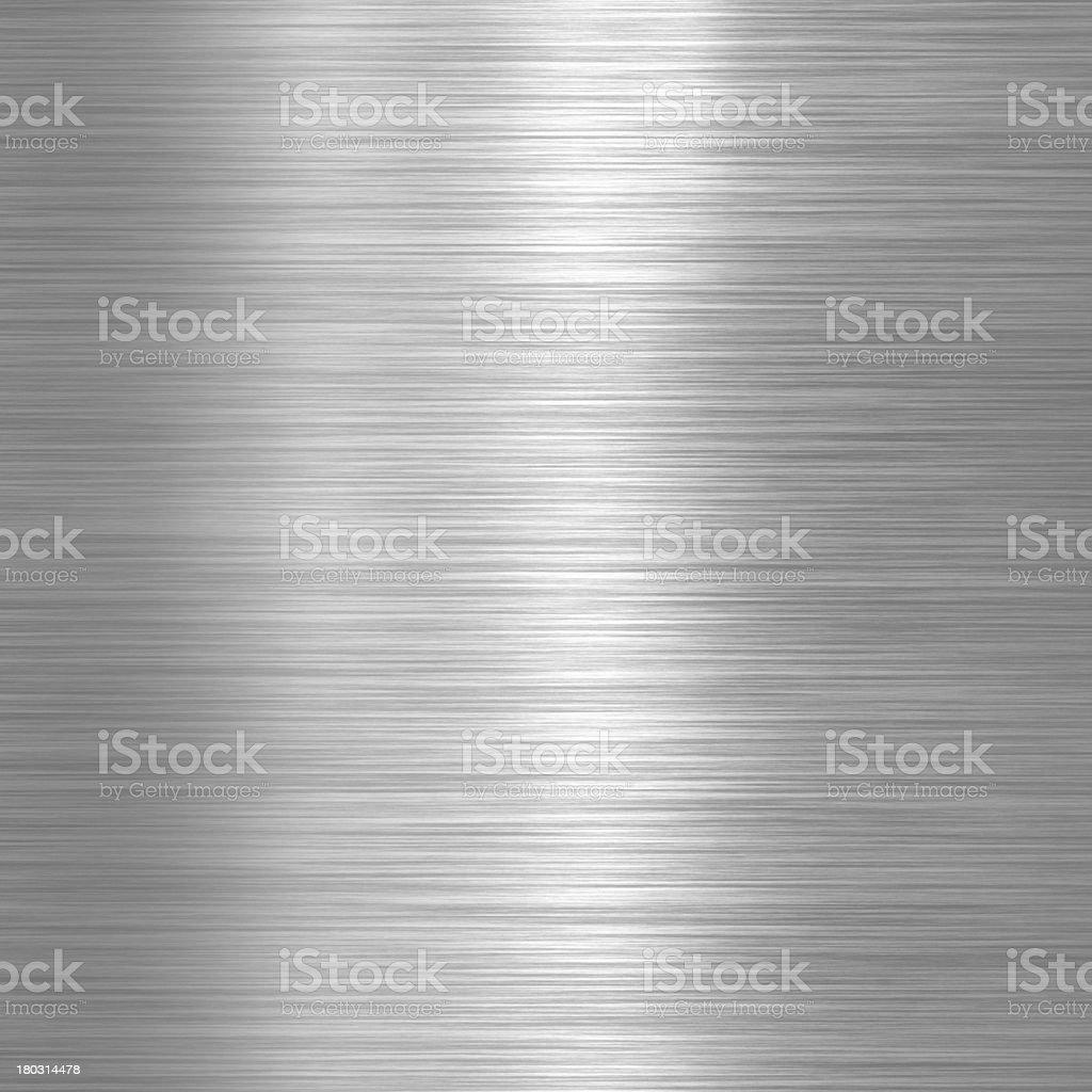 Aluminium metallic plate stock photo