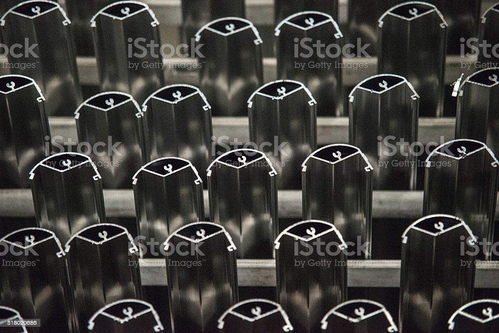 Aluminium Pvc stock photo