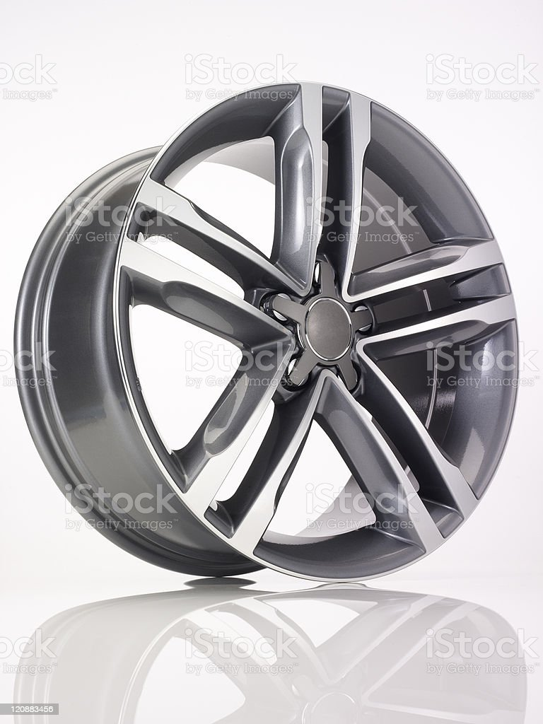 aluminium rim stock photo