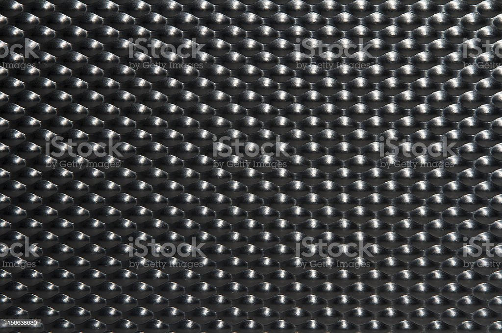 Aluminum bubble material royalty-free stock photo