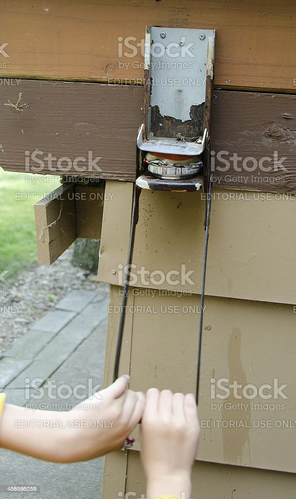 Aluminum Can Crusher Complete stock photo