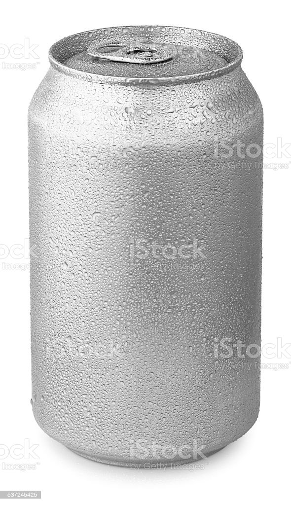aluminum can stock photo