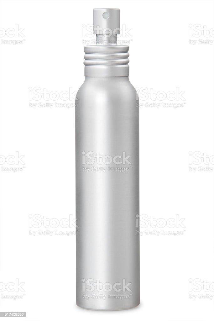 Aluminum container stock photo