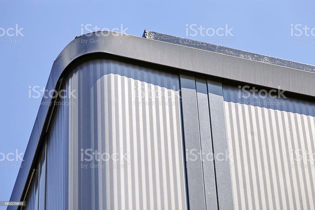 Aluminum facade royalty-free stock photo