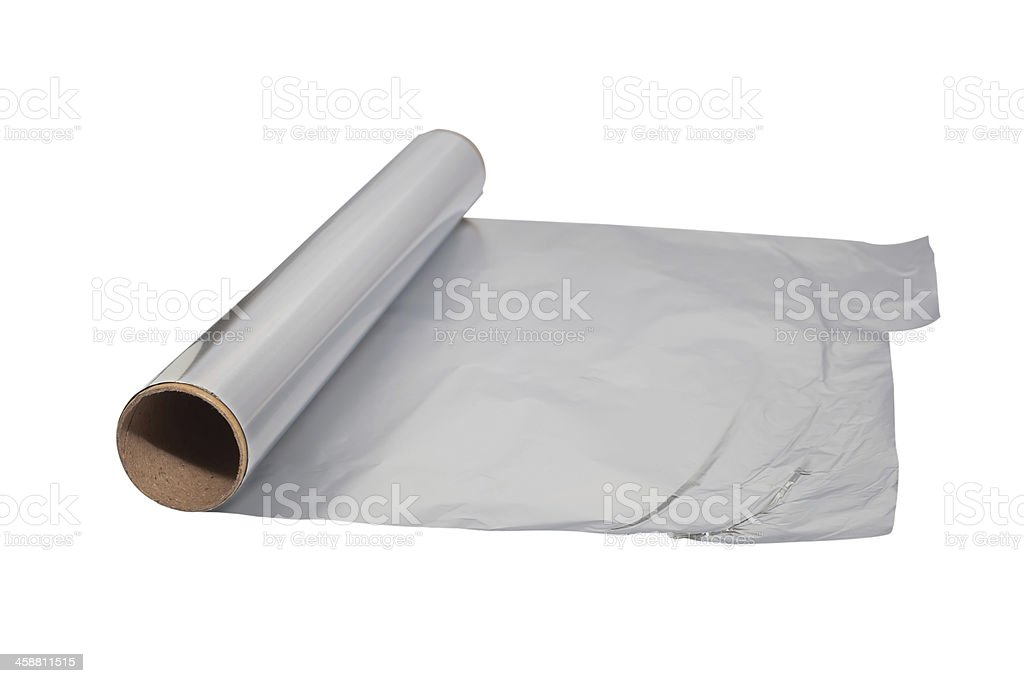 aluminum foil royalty-free stock photo