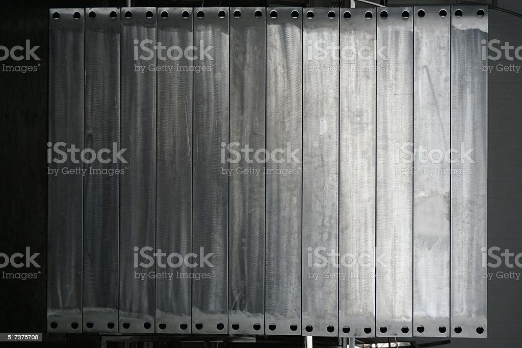 aluminum grinding texture stock photo