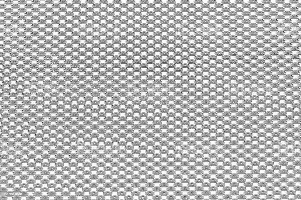 aluminum net modern pattern background stock photo