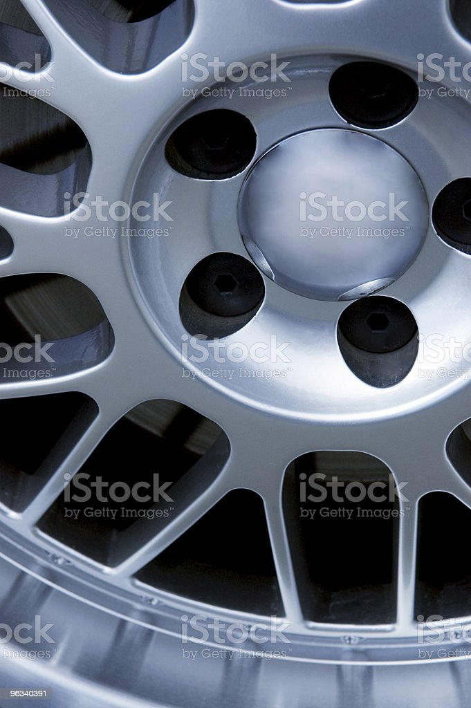 Aluminum Rim royalty-free stock photo