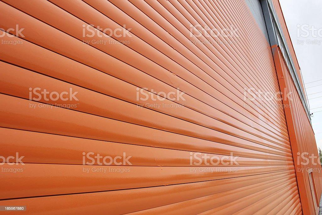 Aluminum Siding stock photo