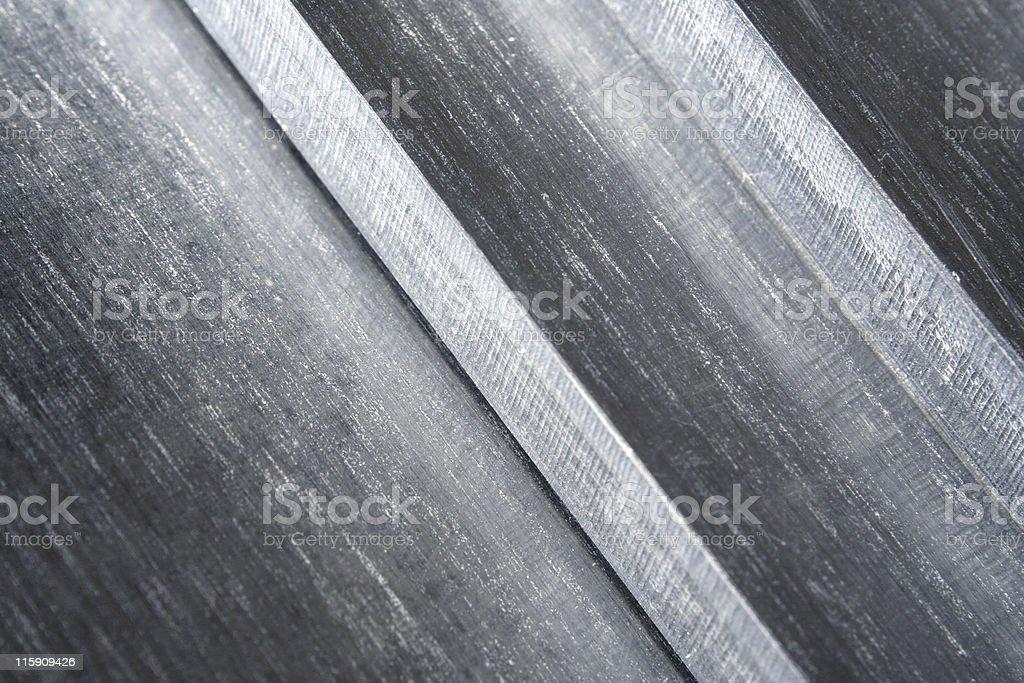 Aluminum surface royalty-free stock photo